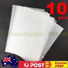 10x Heat Shrink Paper Film Sheets for DIY Jewelry Making Craft Deco Rough Polish
