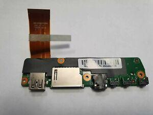 Lenovo Yoga 300-11IBR Flex 3-1120 USB Audio Card Reader Board 3005-01681