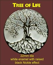 Tree of Life Enamel Pin Badge Biker Motorcycle Motorbike