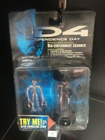 1996 INDEPENDENCE DAY ID4 ALIEN OFFICER & BIO CONTAINMENT CHAMBER FIGURE