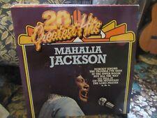"""Mahalia Jackson, """"20 Greatest Hits""""(German vinyl LP)"""