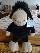 "NICI Jolly Mah Black Sheep Dangling Soft Toy.15"" BNWT"