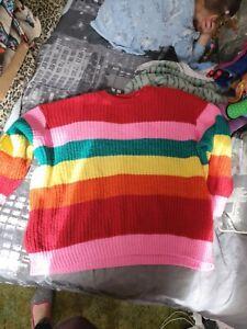 Rainbow 🌈 Jumper Size 20