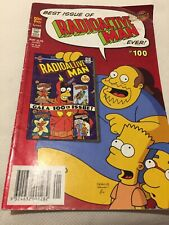 Best Issue Of Radioactive Man Ever! #100 (2004) Bongo/Otter Press Comics Defects