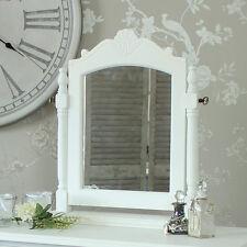 Specchi bianco rettangolo in legno per la decorazione della casa