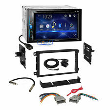Pioneer 2018 DVD Bluetooth Stereo Dash Kit Harness for 1992+ Chevy GMC Pontiac