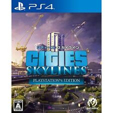 Spike Chunsoft  Cities Skylines SONY PS4 PLAYSTATION 4 JAPANESE VERSION