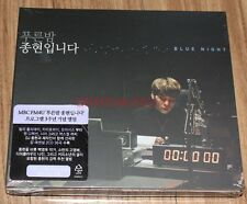 JONGHYUN BLUE NIGHT SHINEE 2 CD + FOLDED POSTER SEALED
