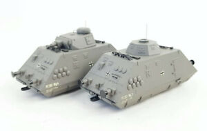 Liliput H0/HO - 'L136501' -SET 2 - Armoured Train - Epoch II - Mint.