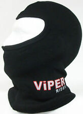 BALACLAVA BLACK COTTON MOTORCYCLE MOTORBIKE BIKE HELMET NECK WARMER TOURING