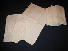Lot of 5 Vintage Cotton Cloth Diapers Redi-FOL Johnson & Johnson - Last few left
