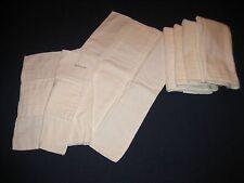 Lot of 6 Vintage Cotton Cloth Diapers Redi-FOL by Chix a Johnson & Johnson Co