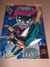 LEGEND OF THE SHIELD ( 7 ) JAN 1992  IMPACT COMICS VERY FINE BUY 3 GET 1 FREE
