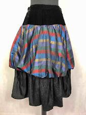 Elegantia by Luisa Spagnoli Vintage '80 Skirt Woman Long Long Skirt Sz. Xs - 38