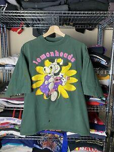 vintage lemonheads shirt band tee rare 90s music brockum single stitch