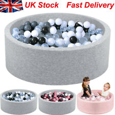 SUDOO Soft Baby Ball Pit paddling Pool with 200Balls Match  Teepee Play Tent UK