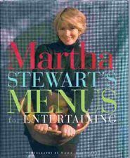 Martha Stewart's Menus For Entertaining By MARTHA STEWART. 9780091790097
