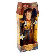"16"" WOODY Talking Doll Disney Toy Story 3 Pull String Figure Sheriff Cow Boy"