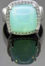 Rina Limor Aqua Chalcedony Ring