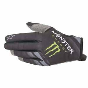 Alpinestars Aviator Motocross MX Offroad Race Gloves Anthracite Black Adults