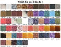 Czech 6/0 Rocaille Glass Seed Beads 1