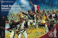 PERRY MINIATURES French Line Infantry 1812 with Flags 28mm Model Kit FREE SHIP