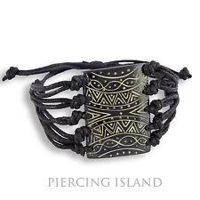 Super Armband Maori Style Handarbeit Organisch B043