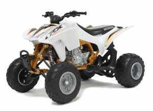 Honda TRX 450R Quad Bike in White (1:12 scale by New-Ray Toys 57473W)