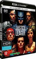 Blu Ray 4K + Blu Ray : Justice League - NEUF