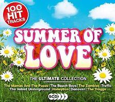 Various. - Summer Of Love BRAND NEW SEALED 5CD BOXSET