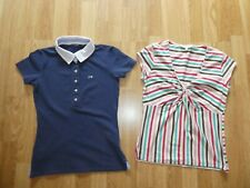 2 DAMESTSHIRTS  'RIVER WOODS +LAURA ASHLEY' Maat/Taille S + 38