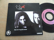 """DISQUE 45T DE MILLI VANILLI  """" BABY DON'T FORGET MY NUMBER  """""""