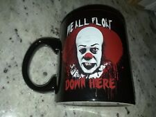 Pennywise IT We All Float Clown Tim Curry Coffee Mug Cup 20oz Halloween Horror