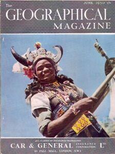 the geographical magazine-JUNE 1950-A DURBAN RICKSHAW DANDY.