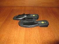 New Womens Size 7 M Basic Editions Black Slip On Shoe Sandal Career Open Toe