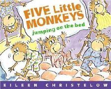 Five Little Monkeys Jumping on the Bed, Christelow, Eileen, 0395557011, Book, Go