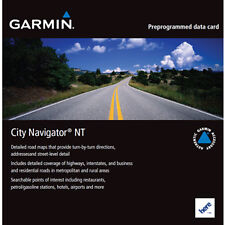 Garmin City Navigator Maps SD Card - Morocco - 010-11565-00