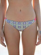 Basta Surf Green Reversible Bikini Bondi Bottoms Size S Zinnia