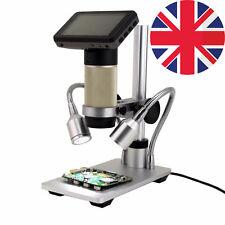 Andonstar HDMI digital inspection microscope PCB repair 10x-300x SMT SMD Camera