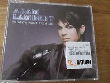 Adam Lambert - Whataya want from me (2 Versionen)    Maxi CD