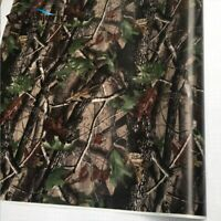 Vinyl Camo Real Tree Car Wrap PVC Adhesive Real Tree Camouflage For Truck Hood