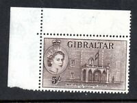 Gibraltar QEII 1953 5/- SG156 MNH unmounted mint WS18366