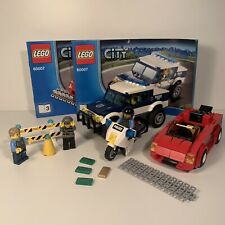 Lego City High Speed Chase 60007 100% Complete Police Burglar With Instructions