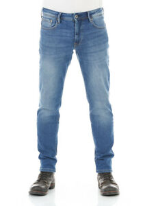 Pepe Jeans Herren Jeans Jeanshose Stanley - Straight Fit Blau Medium Blue Denim