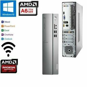 Lenovo IdeaCentre 310S - SFF/AMD A6-9230  2.6GHZ /8GB /1TB/WIFI/HDMI W10/OFFICE