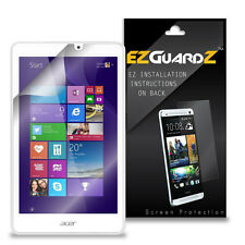 1X EZguardz LCD Screen Protector Shield HD 1X For Acer Iconia Tab 8W (Clear)
