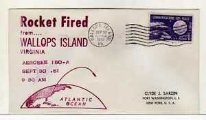 4984) USA 1961 Space Rocket Wallops Isl. Sep 30 1961