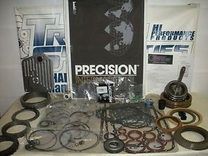 JAGUAR ZF5HP24 TRANSMISSION MASTER REBUILD KIT W/STEELS AND UPDATED A DRUM