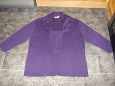 St Michael From Marks & Spencer, Ladies Wool Mix Cardigan, Size 18