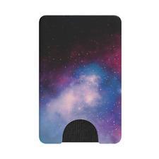 PopSockets Popwallet Blue Galaxy Credit Card Holder NEW